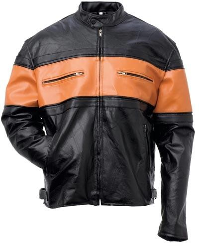 Handsewn Genuine Leather Genuine Leather Mens Jacket