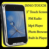 4GB Digital MP4 Player with Touch Screen