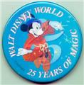 Disney Mickey Sorcerer Flasher 25 yr 3d Pin