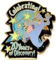 Disney Figment  WDW - Epcot 20 Yrs Discovery Pin/Pins