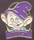 Disney  Snow White  & the 7 Dwarfs Dopey Pin/Pins