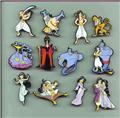 Disney Aladdin Genie Singing Rare  Pin