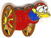 Disneyland Paris Donald Toon Circus pin/pins