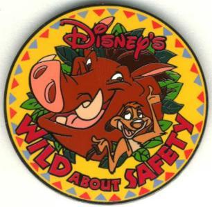 Disney Lion King Cast Member Lanyard Safety  Pin/Pins