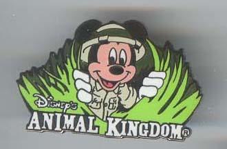 Disney Mickey Mouse Animal Kingdom Rare Pin/Pins