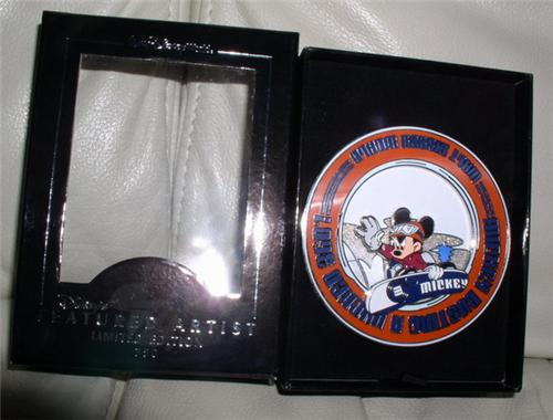 Disney Mickey Mouse Race Car Driver Jumbo Pin Pins Toys