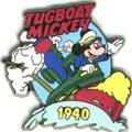 Disney Mickey Mouse Tugboat dated 1940 Pin/Pins