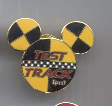 Disney Test Track Mickey Head Logo  Pin/Pins