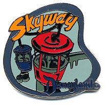 Disney DL - 1998  Attraction Skyway ride Pin/Pins