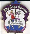 Disneyland - 1998 King Arthur Carrousel  ride Pin/Pins