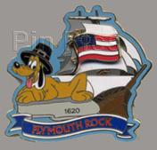 Disney  Pluto - Plymouth Rock Slider Pin/Pins