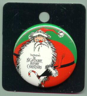 Nightmare Before Christmas Santa Claus pin/pins