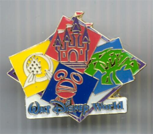 Disney WDW 4 Parks Rare Retired pin/pins