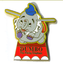 Disney Dumbo Elephant  WDW Fantasyland Ride pin/pins