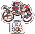 Disney  USA Goofy Donald Mickey Minnie Jumbo pin/pins