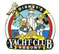 Disney WDW  Donald & Mickey Yacht Club Resort pin/pins