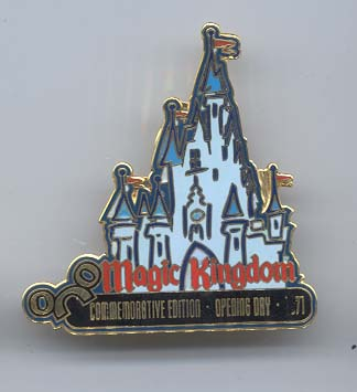 Disney  WDW Magic Kingdom Castle LE pin/pins