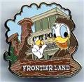 Disney Donald Duck Frontierland Pin/Pins