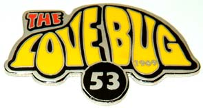 Disney Herbie the Love Bug 53 Rare cute Pin/Pins