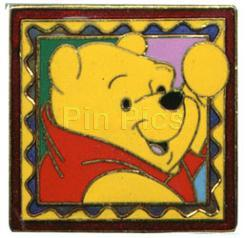 Disney Winnie the Pooh Frame Stamp retired  Pin/Pins