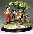 Capodimonte Mickey Donald Clarabelle Cow
