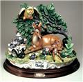 Capodimonte Bambi Porcelain LE figure