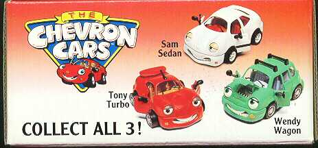 Chevron Cars Tony Turbo, Wendy & Sam Sedan