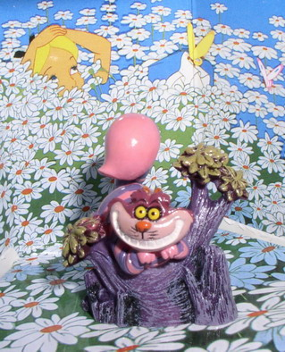 Disney Alice In Wonderland Cheshire Cat miniature