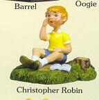 Disney Christopher Robin from Winnie the Pooh miniature