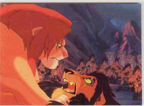 lion king simba vs scar. Disney Lion King Simba