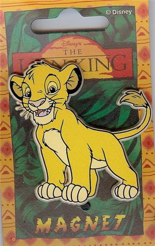 Disney Lion King Simba Magnet Rare