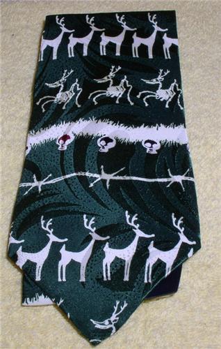 Disney Nightmare Before Christmas rain deer Tie