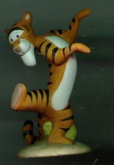 Disney Tigger Winnie Pooh Porcelain Miniature Figurine
