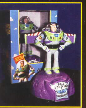 Disney Toy Story 1 Buzz Lightyear Bank Rare