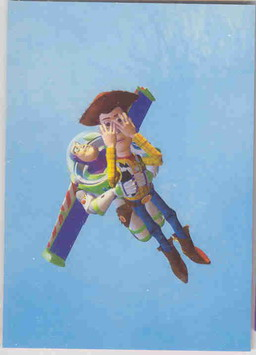 Disney Toy Story Buzz Light Year Woody flying