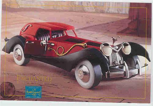 Disney WDCC Villain Cruella de Vil car PromotionalCruella Deville Car Disney