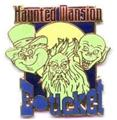Disney WDW Haunted Mansion Authentic E-Ticket pin/pins