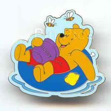 Disney Winnie the Pooh inner tube pin/pins