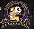 Disneyana Convention Mickey & Pluto pin/pins