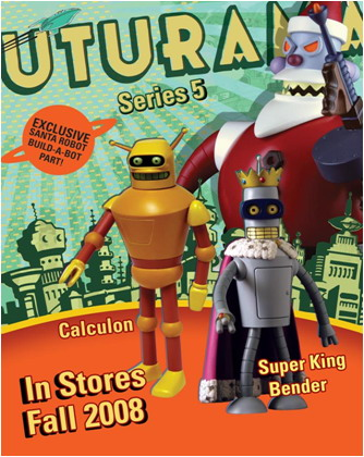 Futurama - King Bender - Build Santa Series 5