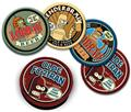 Futurama - Set series 1 Bender  Coasters - Mint On  Card