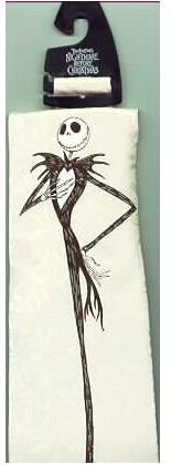 Nightmare Be4 Christmas  Jack Black & White Tie