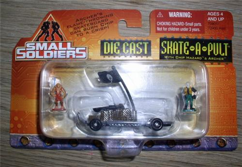 Small Soldiers Die Cast Skate A Pult Mint On Car