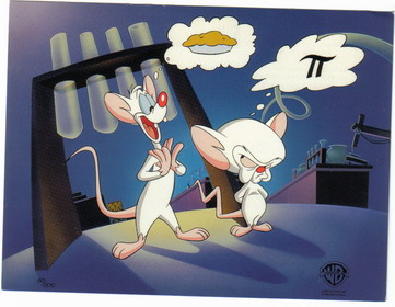 Warner Brothers pinky & the Brain Promo Print