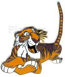 Disney Shere Khan tiger Jungle Book lying down pin/pins