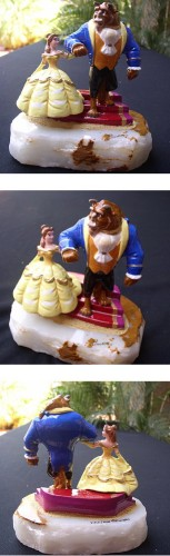 Disney Ron Lee Beauty and the Beast 1995