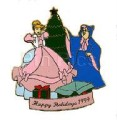 Disney Cinderella & Fairy Godmother  WDW pin/pins