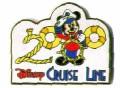 Disney Cruise Line 2000 Logo Mickey Mouse pin/pins