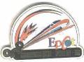 Disneyland  WDW  2000 Epcot Monorail  pin/pins