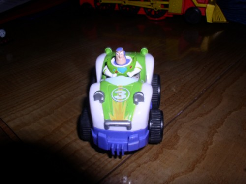 Disney Toy Story Buzz Light Year  race car numbered